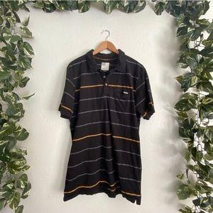 Men's O'Neill Casual Striped Polo T-shirt
